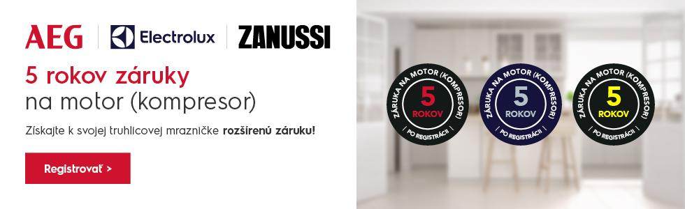ZÁRUKA 5 ROKOV NA MK - ELX / AEG / ZANUSSI FREEZERS